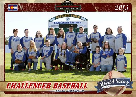 challenger baseball league grand junction s challenger baseball league readies