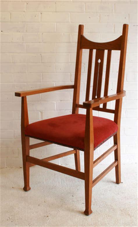 Antiques Atlas Six Arts Crafts Style Oak Dining Chairs Craftsman Style Dining Chairs