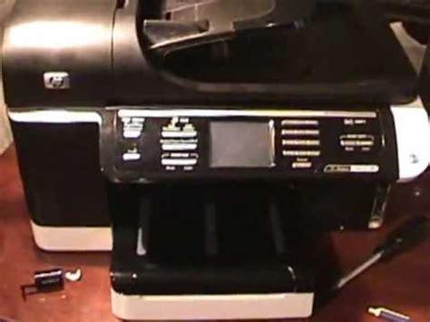 resetting hp officejet pro 8500 reset und verstecktes service men 252 beim hp officejet pr