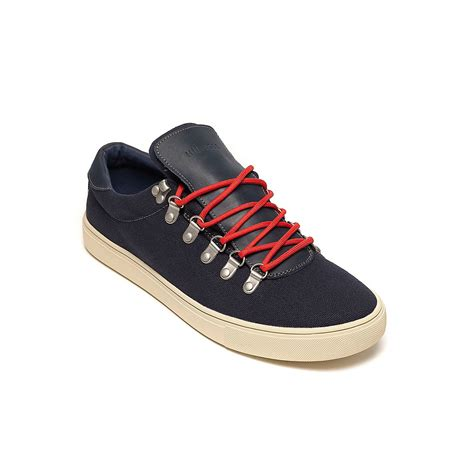 hilfiger sneakers mens hilfiger casual sneaker in blue for peacoat lyst