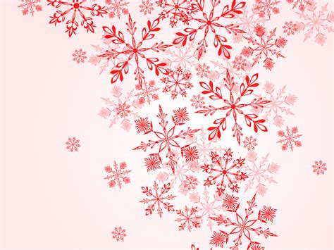 christmas winter on red powerpoint templates christmas
