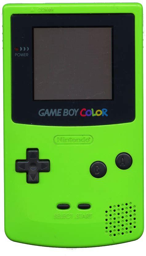nintendo gameboy color nintendo boy color kiwi green