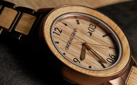 Handcrafted Watches - the barrel handcrafted made with whiskey barrel