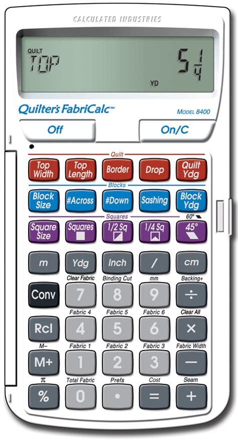 Quilt Square Calculator by Planet Patchwork Product Review Quilter S Fabricalc