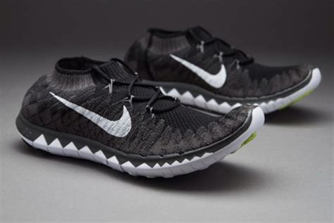 Nike Flyknite Running Black White shoes nike shoes nike running shoes jaden smith black