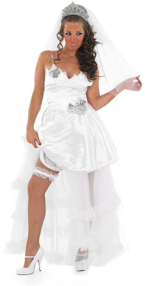 Wedding Dress Costume by Big White Wedding Fancy Dress Hen