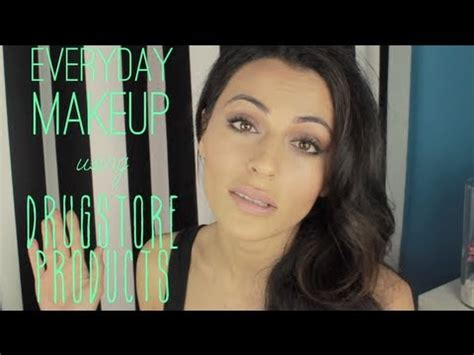 natural makeup tutorial drugstore drugstore makeup tutorial natural makeup tutorial teni