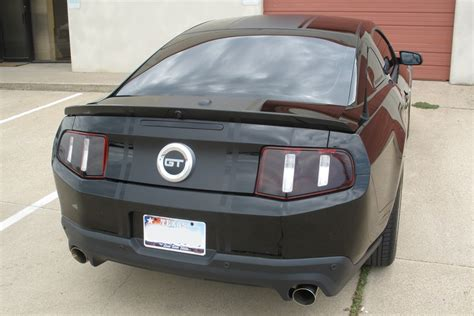 2011 mustang gt tail lights 2012 ford mustang smoked tail lights