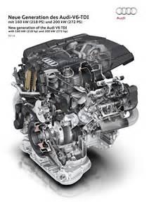 audi reveals new v6 3 0 tdi diesel engine