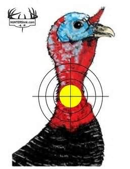 printable turkey hunting targets big 5 turkey roughrider outdoors
