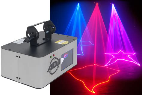 blue laser dj magenta magic american dj s ruby royal laser effect