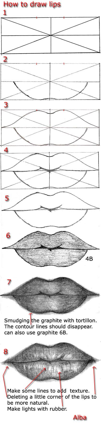 kiss lips tutorial tutorial draw lips by lamorghana on deviantart
