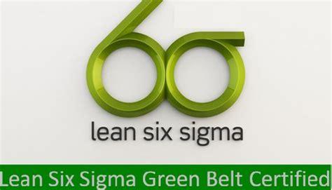 Lean Six Sigma Green Belt Bu Mba Certification by Certified Lean Six Sigma Green Belt Linkedin