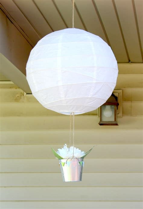 How To Make A Paper Balloon Fly - flight themed birthday project nursery