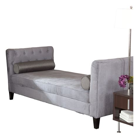 Backless Chaise Longue 28 Images Klaussner Logan