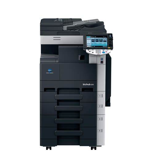 Mesin Fotocopy Konica Minolta Bizhub 283 konica bizhub 283 copier printer scanner refurbexperts