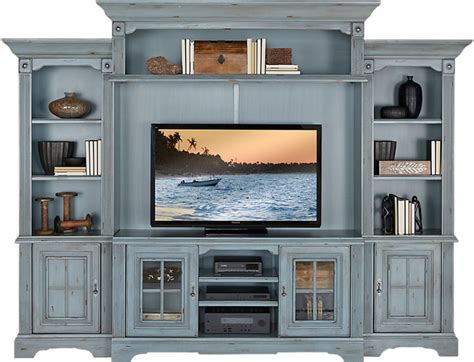 rooms to go wall units rooms to go mountain bluff blue 5 pc wall unit shopstyle home