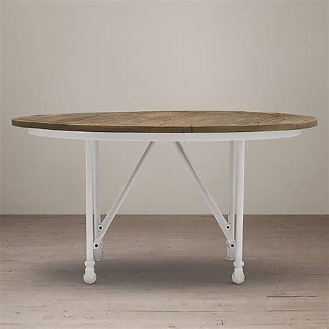 restoration hardware flatiron dining table design