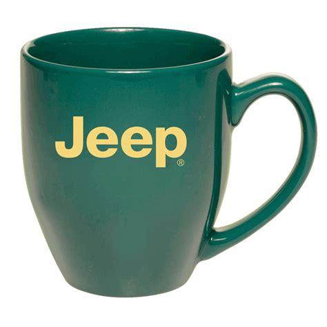Jeep Coffee Mug All Things Jeep Jeep Logo 16 Oz Coffee Mug Green