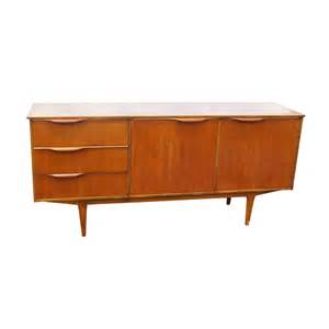 midcentury modern credenza 66 quot vintage mid century modern teak sideboard credenza ebay