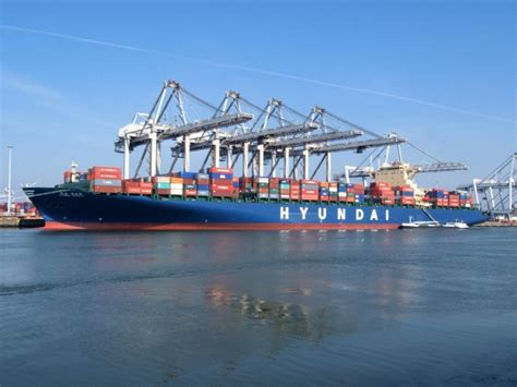 hyundai loyalty ships and harbours photos container ship hyundai loyalty