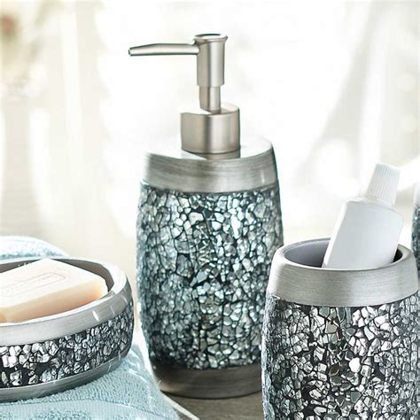 Bathroom Soap Accessories Apartments Stunning Mosaic Bathroom Accessories Design Ideas Feat Soap Dispenser Bottle