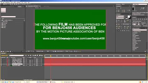 free movie trailer rating card after effect preset youtube