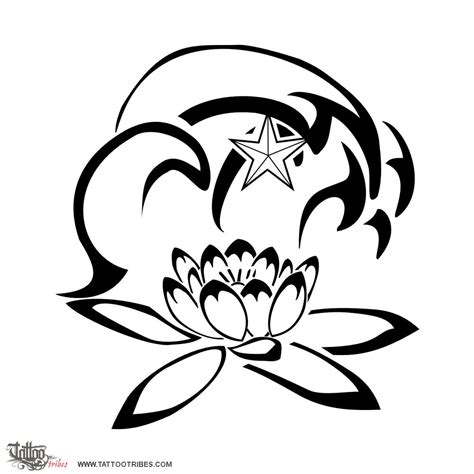 stencil fiori da stare of traveling wave and lotus custom