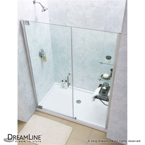 Shower Base And Doors Elegance Pivot Shower Door Base Kits