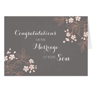 Wedding Congratulations To Parents Of The Groom by Parents Of The Groom Greeting Cards Zazzle
