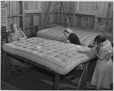 who invented the mattress