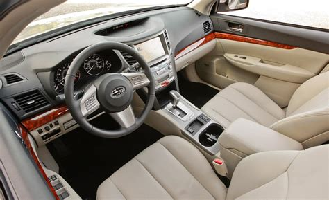 subaru outback black interior car and driver