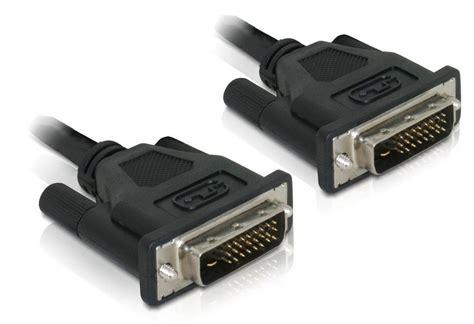 Kabel Dvi To Dvi 24 1 1 5 Meter delock kabel 0 5m 187 dvi 24 1 stecker auf dvi 24 1 stecker