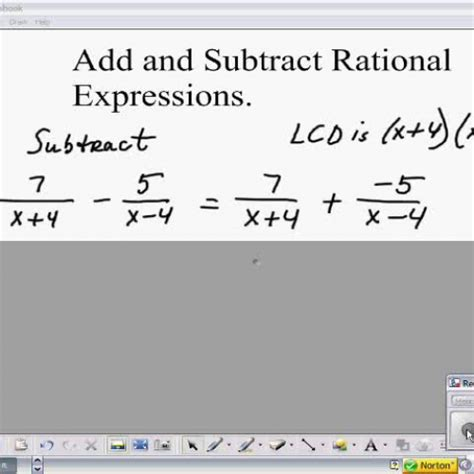 Offices Add Subtract by Add And Subtract Rational Expressions