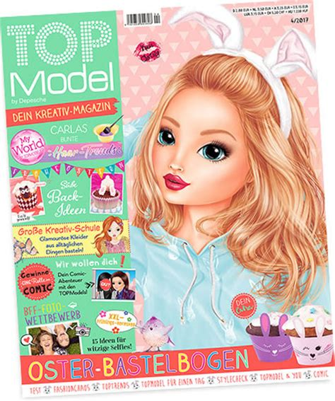 April Top topmodel magazin april 2017 bei papiton bestellen