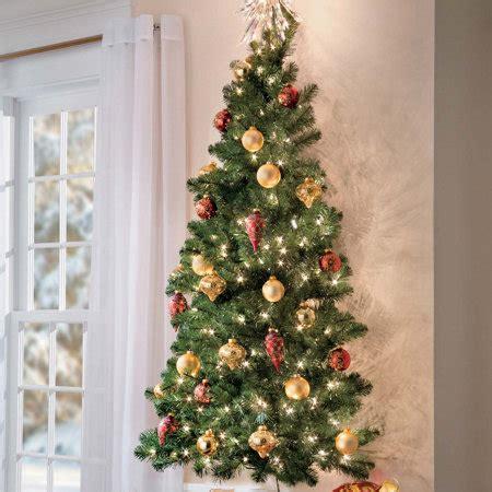 how to make a wall christmas tree 5 ft wall tree improvements