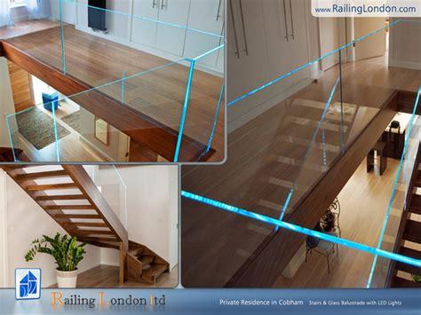 Houzz Bathroom Tile Ideas glass balustrade modern staircase london by