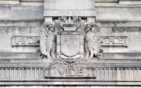 Audi Vide Tace Meaning by Freemason S Hall London Extrospection