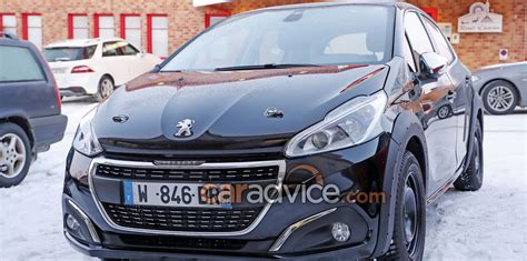 new peugeot 209 2018 peugeot 208 mule spied photos caradvice