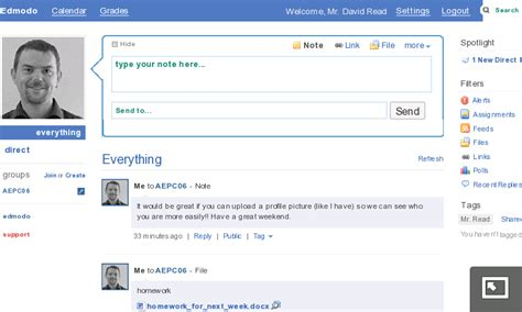 edmodo messaging mobile esl edmodo an educational alternative to twitter
