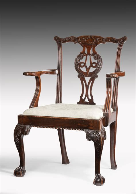 chippendale armchair a superb exle of chippendale armchair summers davis