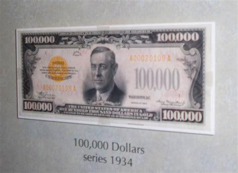 File:$100,000 bill by Matthew Bisanz.JPG - Wikimedia Commons $100000 Bill