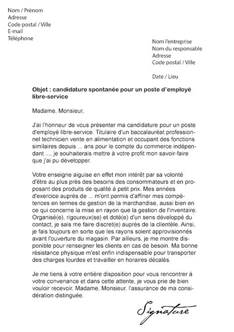 Lettre De Motivation De Els Lettre De Motivation Leader Price Mod 232 Le De Lettre