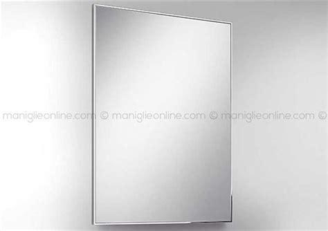 cornice 60x80 specchio 60x80 con cornice in acciaio inox supermirror 6mm