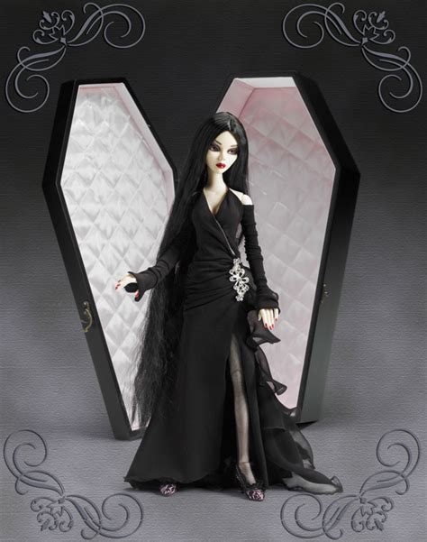 black doll in a coffin wilde imagination plastic and plush