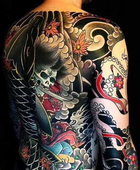 asian back tattoo design best 25 japanese back ideas on samurai