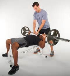 The Bench Press Spotting In Weight Lifting Spotting Technique My