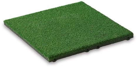 rubber sting mat grass rubber tile 25mm