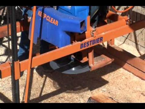 swing saw sawmill how to build a swing blade sawmill pt3 doovi