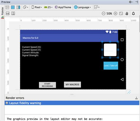 android layout xml namespace image showing in preview but not on android tablet xml